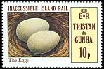 Cl: Inaccessible Island Rail (Atlantisia rogersi)(Endemic or near-endemic)  SG 315 (1981)