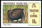 Cl: Inaccessible Island Rail (Atlantisia rogersi)(Endemic or near-endemic)  SG 316 (1981)