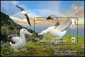 Cl: Wandering Albatross (Diomedea exulans dabbenena)(Repeat for this country)  SG 1067 (2013)