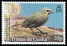 Cl: Gough Island Finch (Rowettia goughensis)(Endemic or near-endemic)  SG 1100 (2014)