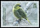Cl: Nightingale Finch (Nesospiza acunhae dunnei)(Endemic or near-endemic)  SG 1101 (2014)