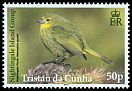 Cl: Nightingale Finch (Nesospiza acunhae questi)(Endemic or near-endemic)  SG 1102 (2014)