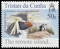 Cl: Rockhopper Penguin (Eudyptes chrysocome moseleyi)(Repeat for this country)  SG 818 (2005)