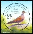 Cl: European Turtle-Dove (Streptopelia turtur) <<Uveyik>>  SG 4052b (2011)