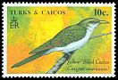 Cl: Yellow-billed Cuckoo (Coccyzus americanus) SG 1010 (1990) 0