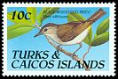 Cl: Black-whiskered Vireo (Vireo altiloquus)(Repeat for this country)  SG 1051 (1990)