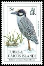 Cl: Yellow-crowned Night-Heron (Nyctanassa violacea)(Repeat for this country)  SG 1229 (1993)