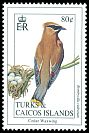 Cl: Cedar Waxwing (Bombycilla cedrorum)(Repeat for this country)  SG 1233 (1993)