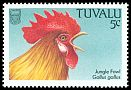 Cl: Red Junglefowl (Gallus gallus)(Introduced)  SG 502 (1988)