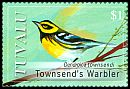 Cl: Townsend's Warbler (Dendroica townsendi)(Out of range and no other stamp)  SG 1326 (2008) 150 [4/57]