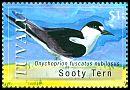 Cl: Sooty Tern (Sterna fuscata)(Repeat for this country)  SG 1327 (2008) 150 [4/57]
