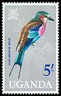 Cl: Lilac-breasted Roller (Coracias caudata) SG 124 (1965) 475