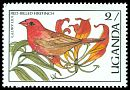 Cl: Red-billed Firefinch (Lagonosticta senegala) SG 559 (1987) 5