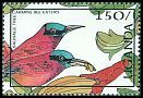Cl: Northern Carmine Bee-eater (Merops nubicus) SG 567 (1987)
