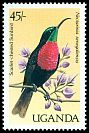 Cl: Scarlet-chested Sunbird (Chalcomitra senegalensis) SG 592 (1987) 90