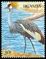 Cl: Grey Crowned-Crane (Balearica regulorum)(Repeat for this country)  SG 733 (1989) 70