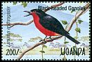 Cl: Black-headed Gonolek (Laniarius erythrogaster) SG 1449 (1995)