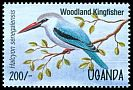 Cl: Woodland Kingfisher (Halcyon senegalensis) SG 1452 (1995)