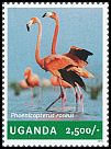 Cl: Chilean Flamingo (Phoenicopterus chilensis)(Out of range) (I do not have this stamp)  new (2014)