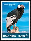 Cl: Andean Condor (Vultur gryphus)(Out of range) (I do not have this stamp)  new (2014)