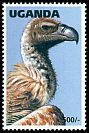 Cl: White-backed Vulture (Gyps africanus) SG 1640 (1996) 50