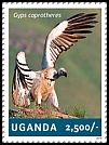 Cl: Cape Griffon (Gyps coprotheres)(Out of range) (I do not have this stamp)  new (2014)