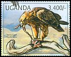 Cl: Tawny Eagle (Aquila rapax)(I do not have this stamp) (not catalogued)  (2012)