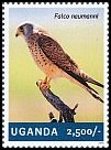 Cl: Lesser Kestrel (Falco naumanni)(I do not have this stamp)  new (2014)