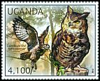Cl: Cape Eagle-Owl (Bubo capensis)(I do not have this stamp)  new (2012)  [7/55]