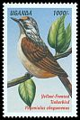 Cl: Yellow-fronted Tinkerbird (Pogoniulus chrysoconus) SG 2110 (1999)