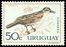 Cl: Rufous Hornero (Furnarius rufus)(Repeat for this country)  SG 1206 (1962) 90