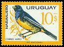Cl: Blue-and-yellow Tanager (Thraupis bonariensis) <<Naranjero>>  SG 1218 (1962) 875