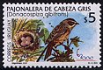 Cl: Long-tailed Reed-Finch (Donacospiza albifrons) SG 2632 (2000) 250 [1/3]