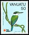 Cl: Collared Kingfisher (Todirhamphus chloris) SG 578 (1991) 65