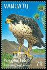 Cl: Peregrine Falcon (Falco peregrinus nesiotes)(Repeat for this country)  SG 806 (1999) 110