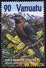 Cl: Mountain Starling (Aplonis santovestris) SG 850 (2001) 225