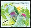 Cl: Red-bellied Fruit-Dove (Ptilinopus greyi) SG 1120c (2012)