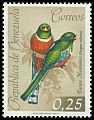 Cl: Collared Trogon (Trogon collaris) <<Tucuso Monta&ntilde;ero>>  SG 1751 (1962) 90