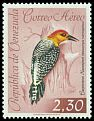 Cl: Red-crowned Woodpecker (Melanerpes rubricapillus) <<Carpintero Naranjero>>  SG 1761 (1962) 875