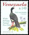 Cl: Helmeted Curassow (Pauxi pauxi) <<Pauji copete de piedra>> (Endemic or near-endemic)  SG 3465 (1998) 210