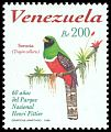 Cl: Collared Trogon (Trogon collaris) <<Sorocu&aacute;>> (Repeat for this country)  SG 3470 (1998) 300