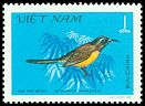 Cl: Green-tailed Sunbird (Aethopyga nipalensis) SG 419 (1981) 90