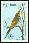 Cl: European Bee-eater (Merops apiaster)(Out of range)  SG 962 (1986)