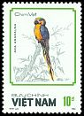 Cl: Blue-and-yellow Macaw (Ara ararauna)(Out of range)  SG 1176 (1988)