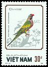 Cl: Red-breasted Parakeet (Psittacula alexandri) SG 1180 (1988) 130