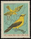 Cl: Black-naped Oriole (Oriolus chinensis) SG 454 (1966) 35 [3/4]