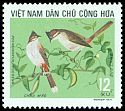 Cl: Red-whiskered Bulbul (Pycnonotus jocosus) SG 741 (1973) 30