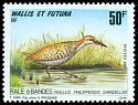 Cl: Buff-banded Rail (Gallirallus philippensis swindellsi) <<R&acirc;le &agrave; bandes>> (Repeat for this country)  SG 619 (1993) 200