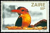 Cl: African Pygmy-Kingfisher (Ispidina picta) <<Martin-p&ecirc;cheur pygm&eacute;e>>  SG 1134 (1982) 15