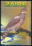 Cl: Crowned Hawk-Eagle (Stephanoaetus coronatus) <<Aigle couronn&eacute;>>  SG 1482 (1996)